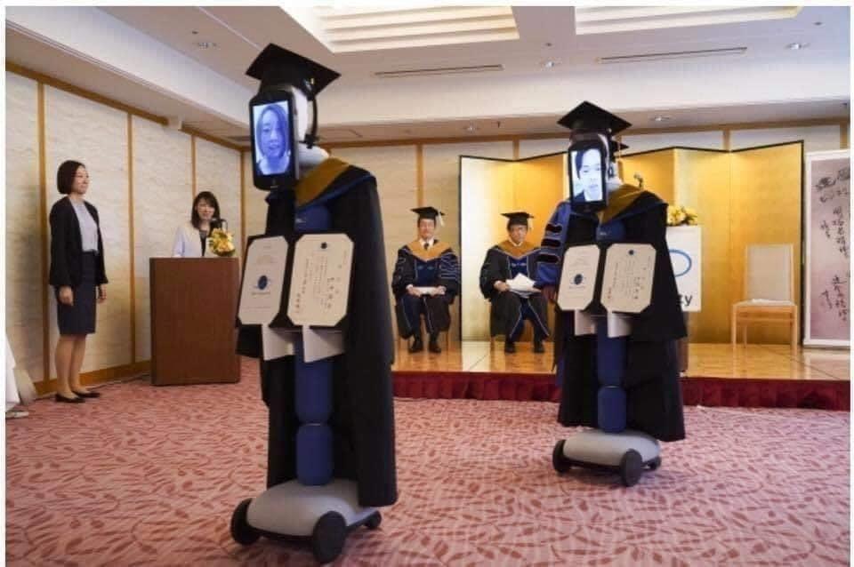 日本的遠距畢業典禮🎓